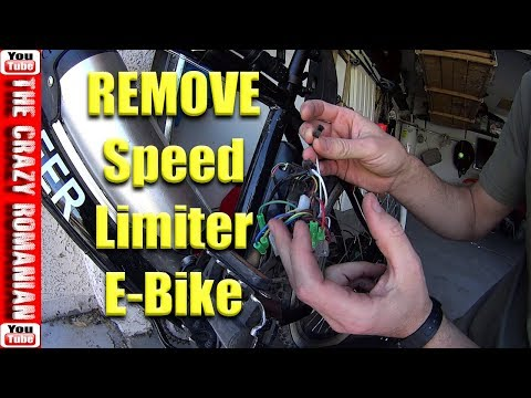 How to remove speed limiter Chinese Electric Bicycle - Ancheer - YouTube