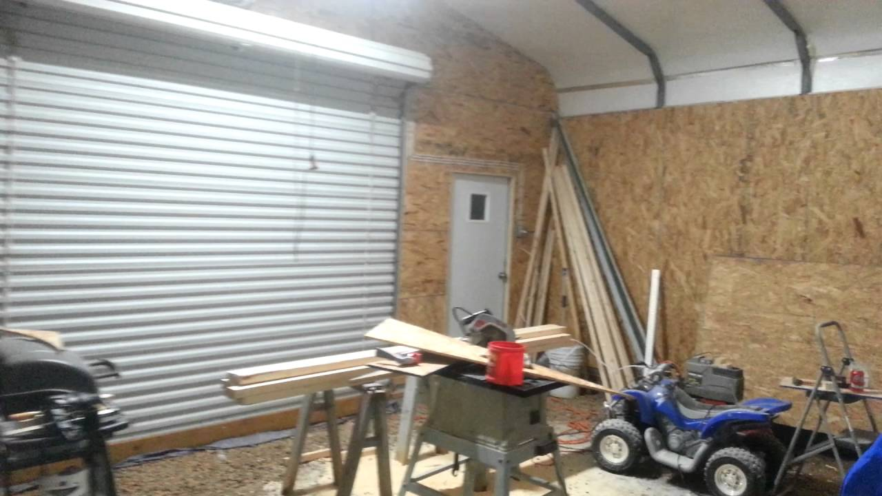 24x20 Garage Carport 1 Youtube