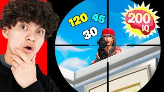REACTING TO 200 IQ PLAYS IN FORTNITE!! #2