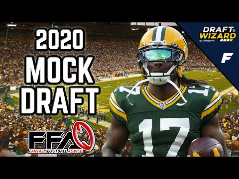 Fantasy Football Mock Draft - 2020 Fantasy Football Advice | 12 Team | Half PPR | 10th Pick