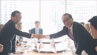 与野党議員が韓国の議員団と会談 共同声明に至らず(19/07/31)