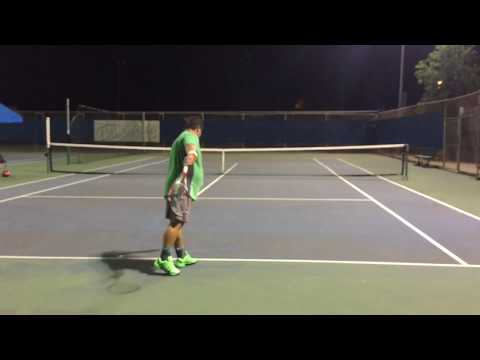 In or Out?  Smack for Cash Tennis - should the French Bull keep the $5.00?