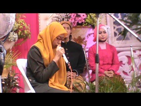 [Merdu sangat] qiraat pernikahan. Ustazah dari Jombang.jawa timur
