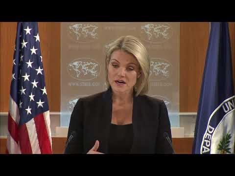 Heather Nauert State Department Press Briefing on President Donald Trump News - December 5, 2017