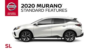homepage tile video photo for 2020 Nissan Murano SL Walkaround & Review