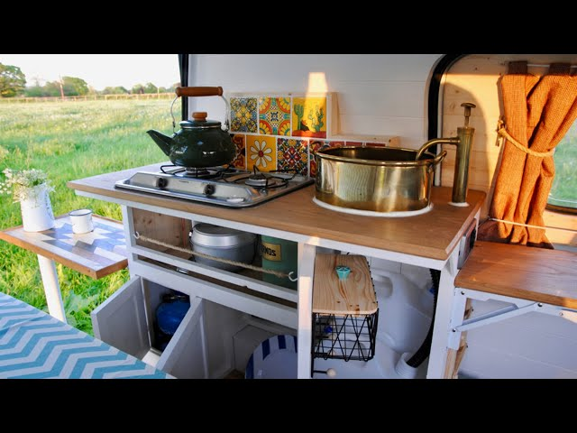 How To Build A Kitchen Unit - Part 12 - How To Build/Convert A Camper Van