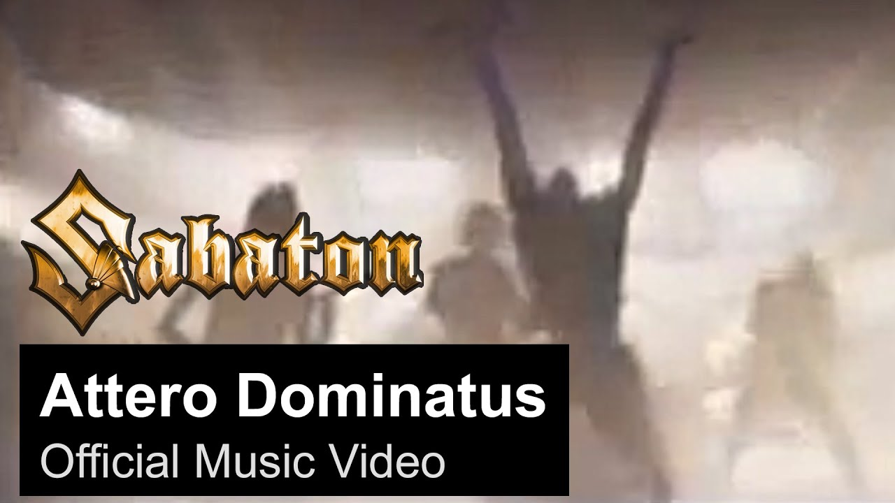 SABATON — Attero Dominatus (Official Music Video)