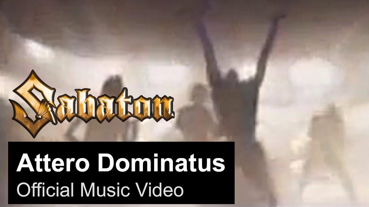 SABATON — Attero Dominatus (Official Music Video)