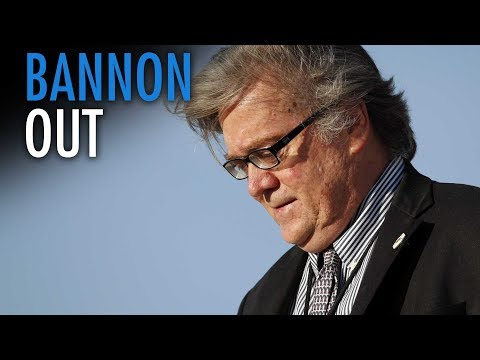 Ezra Levant: Firing Bannon a victory for the establishment