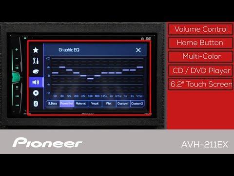 Pioneer AVH-211EX Multimedia DVD-Receiver with 6 2