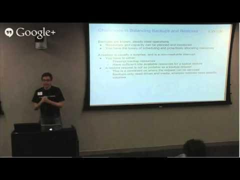 NYC Tech Talk Series: How Google Backs Up the Internet