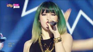 【TVPP】4MINUTE - Crazy, 포미닛 - 미쳐 @ Show Music Core Live 4MINU...