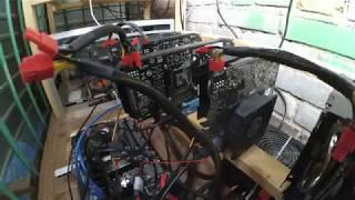 Материнка GIGABYTE GA-970A-DS3P для майнинга на 5 Gpu