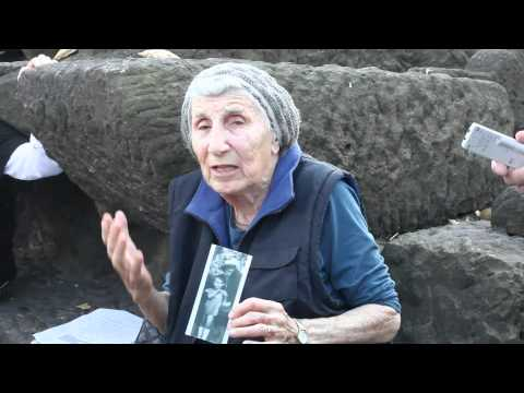 Auschwitz Survivor returns to Birkenau
