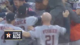 Astros Win Game 4, Advance to ALCS vs Red Sox | Astros vs Red Sox Game 4 NLDS