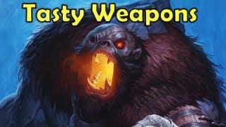 Hearthstone - Tasty Weapon Buffs