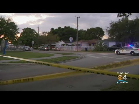 Police Investigating Two Separate Shootings Near NW Dade Elementary School
