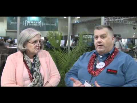 DearMYRTLE & Thomas MacEntee at Rootstech 2011
