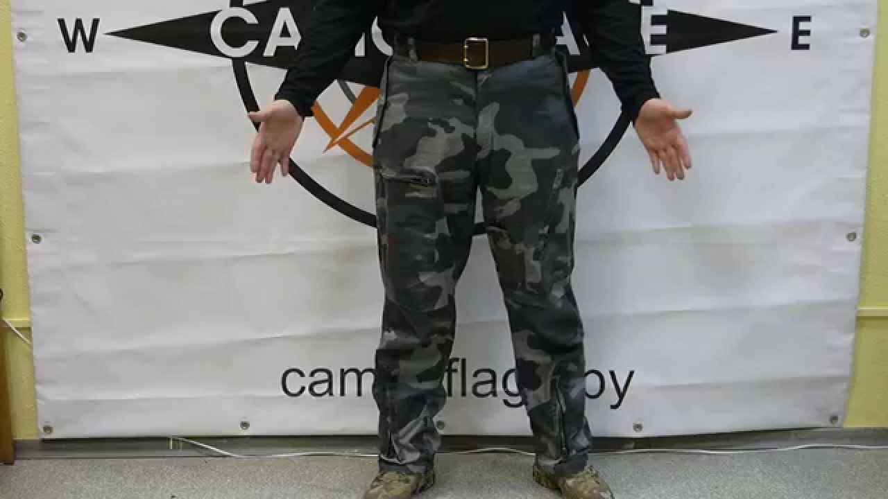 Видеообзор на брюки Варгградъ Милитари - YouTube