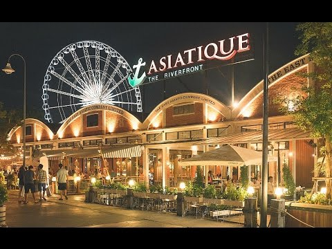 Asiatique The Riverfront in Bangkok