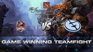 Dota 2 TI7 - Triple Stun Game Winning Team Fight!