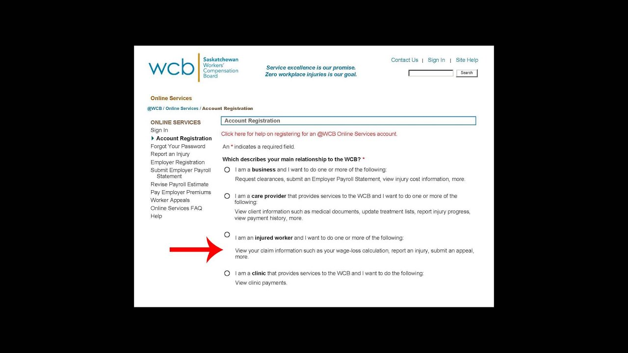 Injured Workers: Setting up an @WCB Online Account