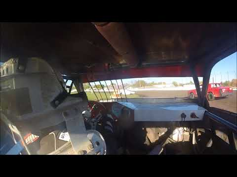Adam Snyder - Hobby Stock Heat - Murray County Speedway 10-7-17
