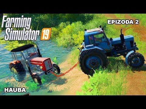 Farming Simulator 2019 | Hauba | Epizoda 2