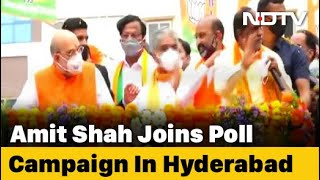 BJP Pulls Out Big Guns For Local Polls In Hyderabad