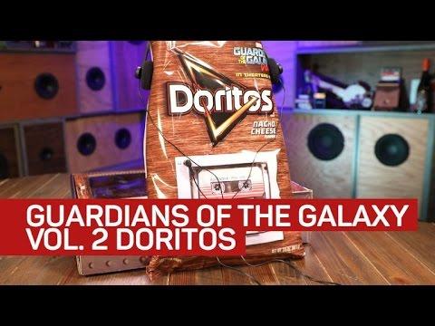 This Doritos bag plays 'Guardians of the Galaxy Vol. 2' soundtrack