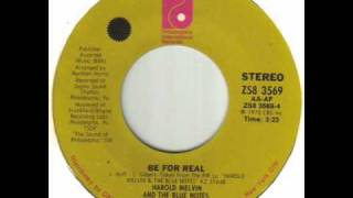 Harold Melvin And The Blue Notes - Be For Real.wmv
