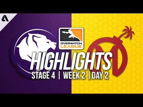 Los Angeles Gladiators vs Florida Mayhem | Overwatch League Highlights OWL Stage 4 Week 2 Day 2