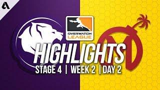 Los Angeles Gladiators vs Florida Mayhem | Overwatch League Highlights OWL Stage 4 Week 2 Day 2