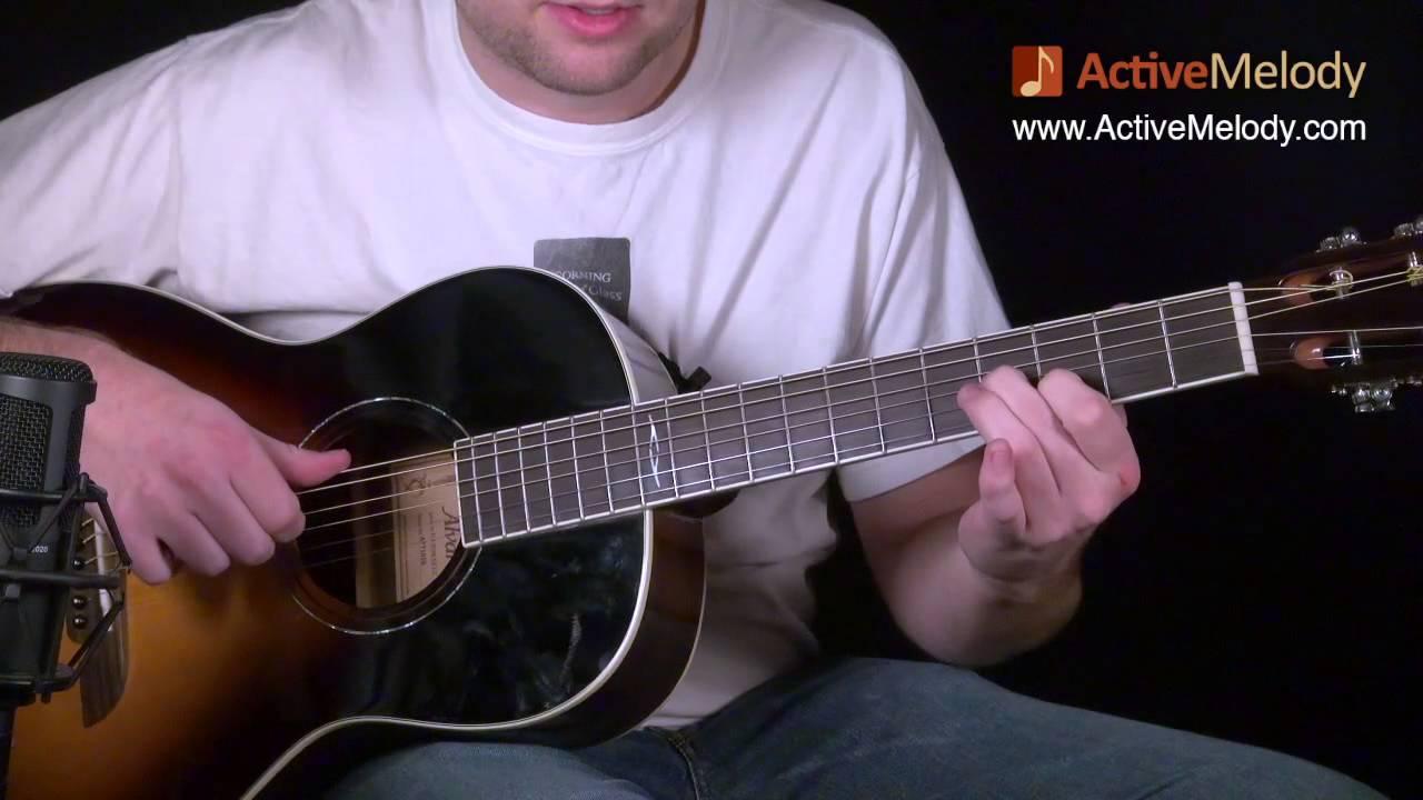 guitare acoustique blues lesson