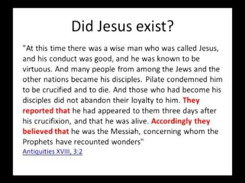 Did Jesus Exist Historically? The Evidence - YouTube