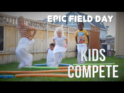 11 Indoor and Outside Relay Races for children