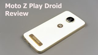 Moto Z Play Review(Lisa Gade reviews the Moto Z Play, which is available as the Droid edition on Verizon Wireless in the US and as a GSM unlocked phone direct from Motorola's ..., 2016-09-12T20:42:11.000Z)