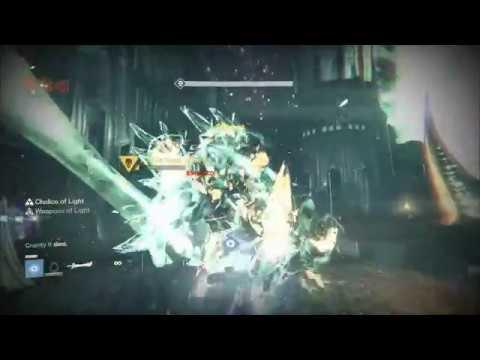 Destiny - 1 Sword 390 Light Crota Kill In 2 Downs!!!