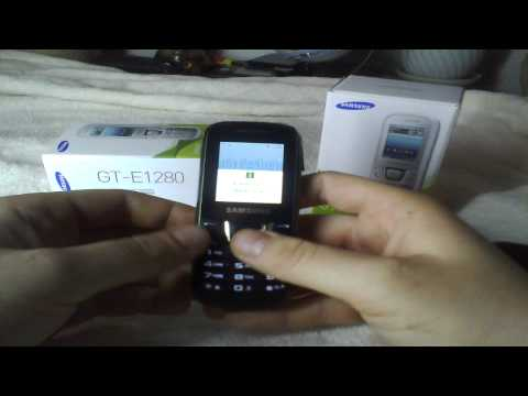 Samsung E1280 - Recenzja, Test