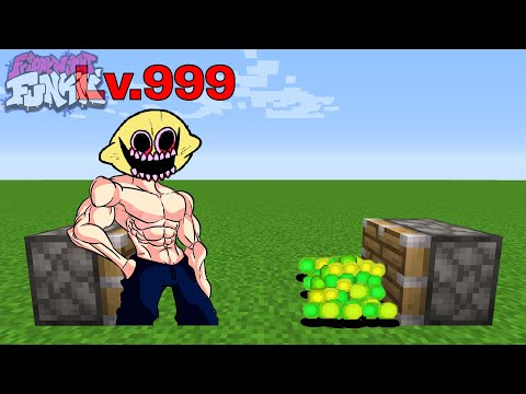 MONSTER + 1000 XP   FNF Friday Night Funkin' Characters in Minecraft