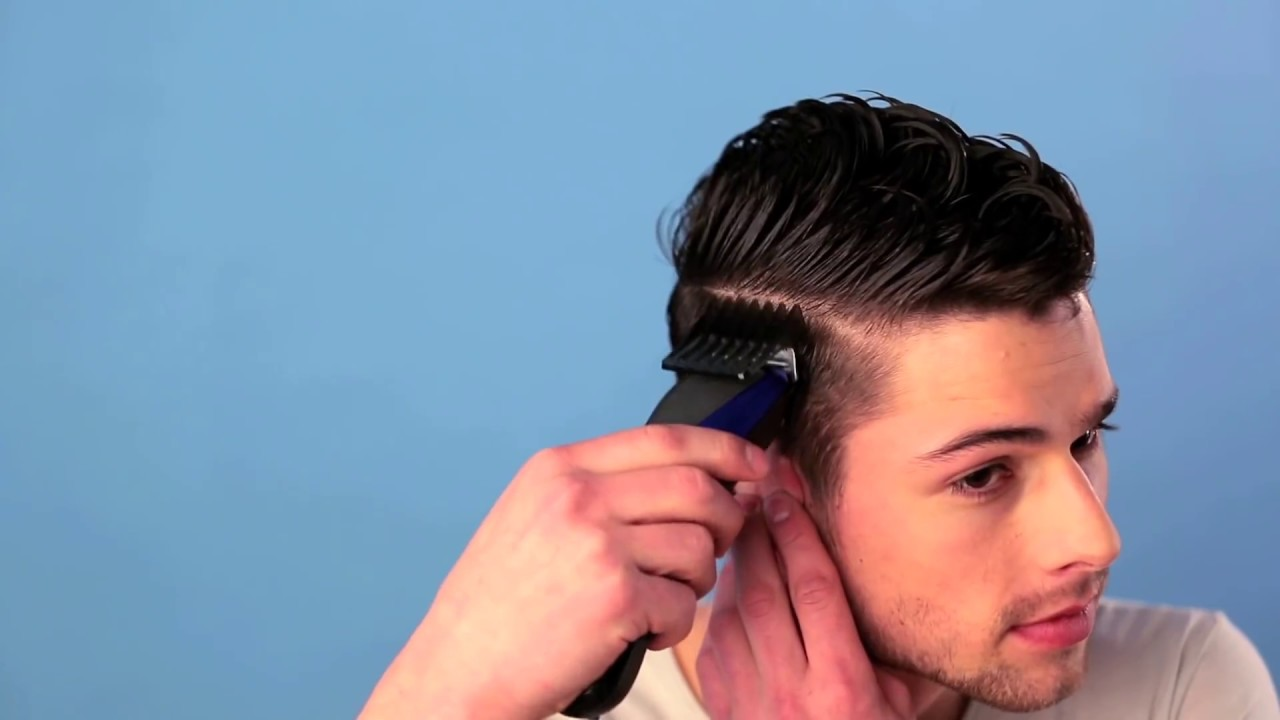 tuto coiffure homme coupe undercut avec d grad youtube. Black Bedroom Furniture Sets. Home Design Ideas