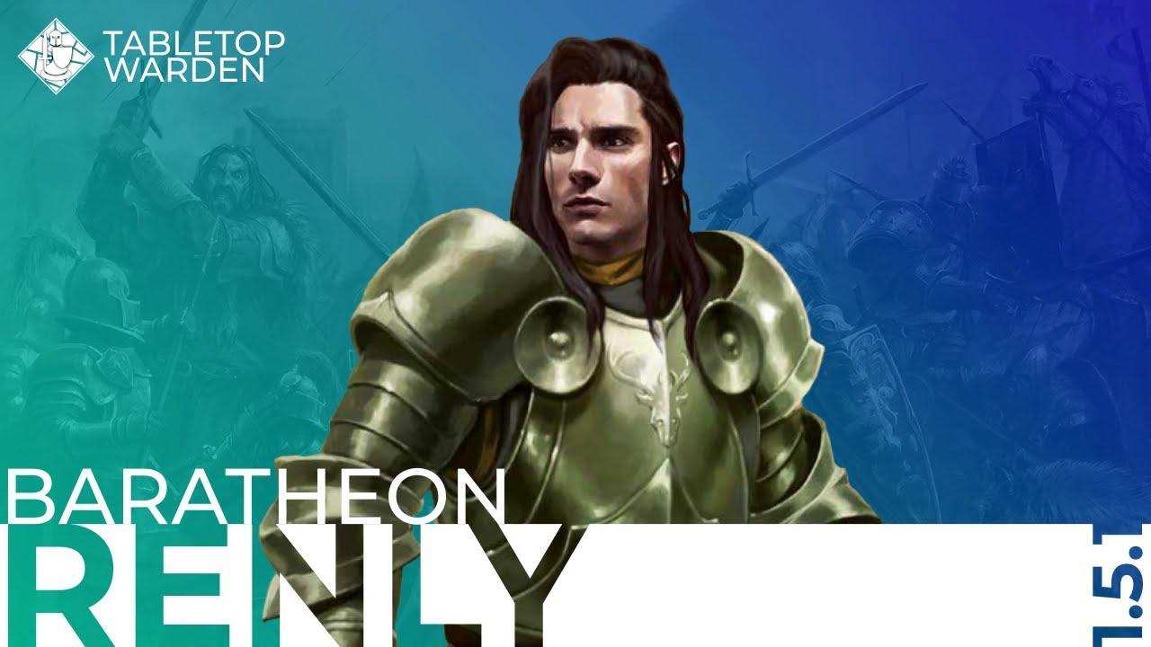 ASOIAF TMG Podcast 25 - Baratheon (3/3): Renly [Deutsch]