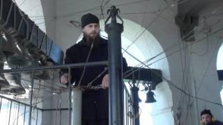 Пасхальный звон в Свято-Даниловом монастрыре.