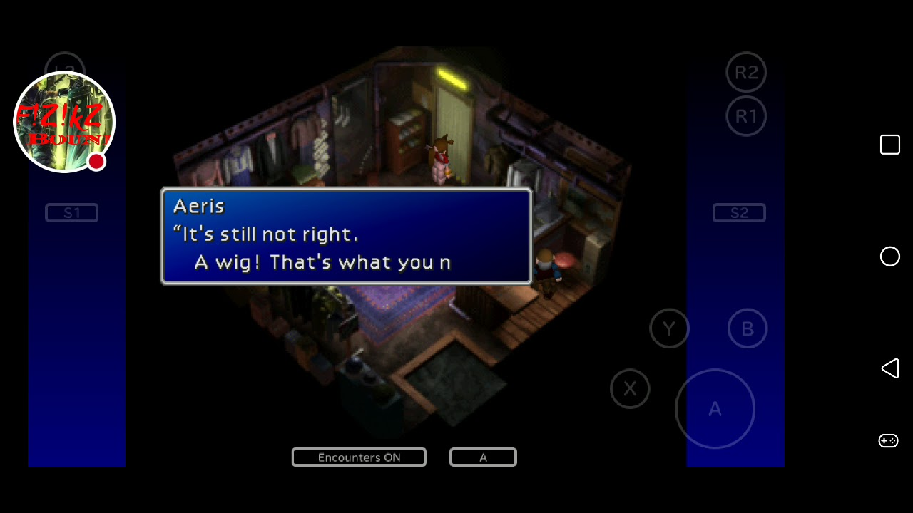 Final Fantasy VII walkthrough for Android version/The wall market
