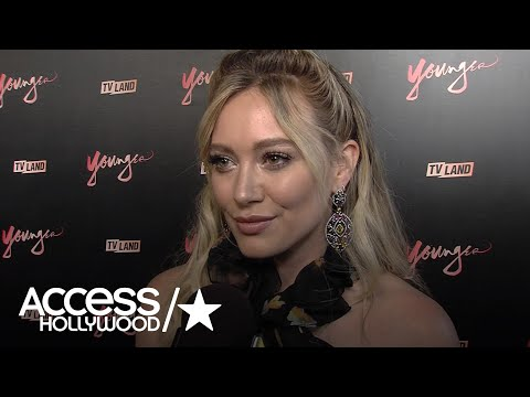 Hilary Duff On 'Younger' Season 4: Is She Team Josh Or Charles For Liza?   Access Hollywood