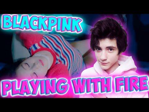 BLACKPINK - '불장난 (PLAYING WITH FIRE)' M_V Реакция   BLACKPINK (K-pop группа)   Реакция на BLACKPINK