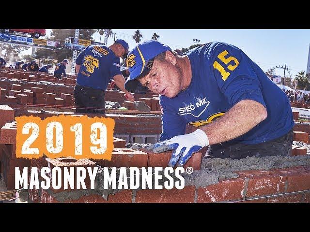 Masonry Madness Sizzle 2019