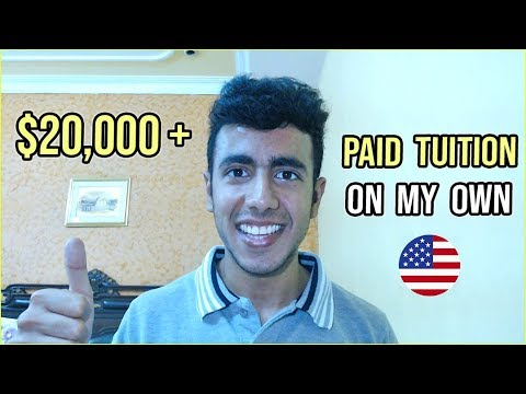 How I Paid My Tuition Fee On My Own? $20,000+