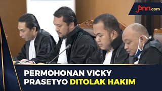 Permohonan Penaguhan Penahanan Vicky Prasetyo Ditolak - JPNN.com