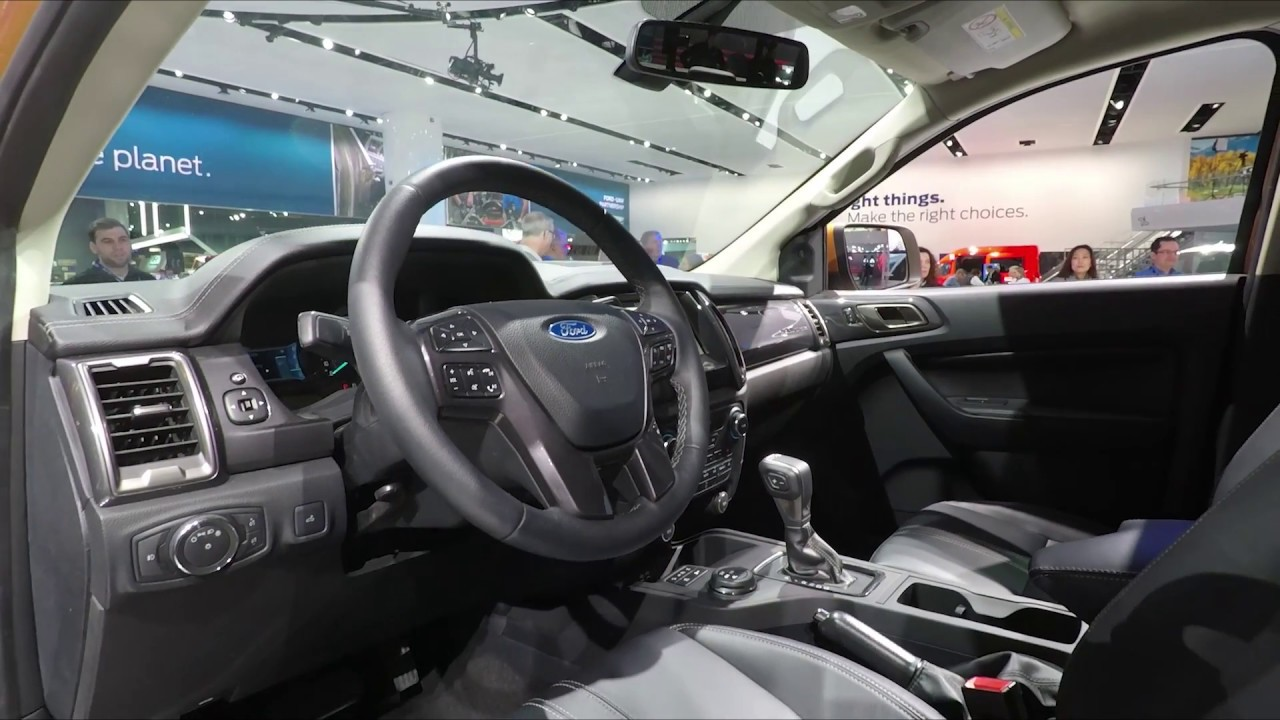 Ford Raptor Inside >> 2019 Ford Ranger Interior | Autoblog Short Cuts - YouTube